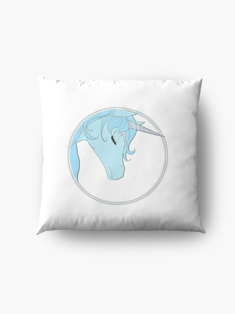 Alternate view of The Last Unicorn Floor Pillow