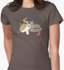 I Believe in Spiracles Women's Fitted T-Shirt