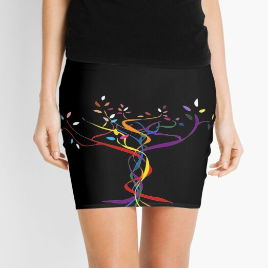 Pride Tree Mini Skirt
