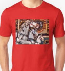 Vintage Horse Carousel Merry-Go-Round Carnival Ride  Unisex T-Shirt