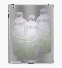 Three stone sculptures of women. iPad Case/Skin