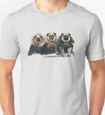 Mops der Throne Slim Fit T-Shirt