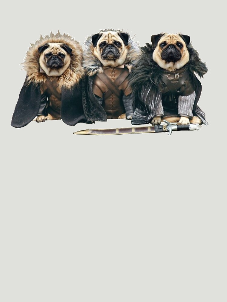 Pug of Thrones | Unisex T-Shirt