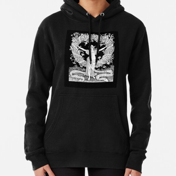 Walter Crane: A Garland for May Day 1895 Pullover Hoodie