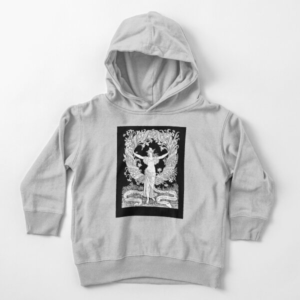 Walter Crane: A Garland for May Day 1895 Toddler Pullover Hoodie