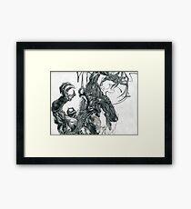 Venom vs. Carnage Framed Print