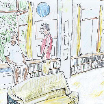 Arthur C. Clarke's Library, Colombo by JohnDouglas