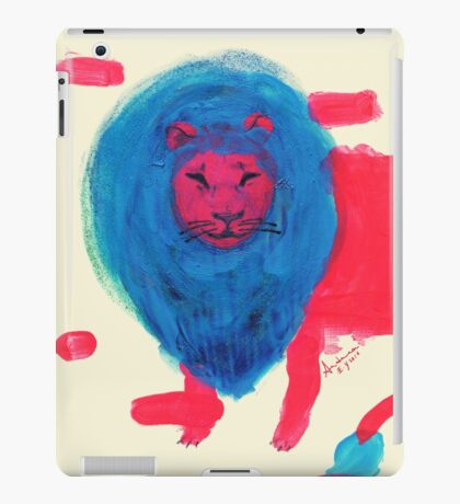 León iPad Case/Skin