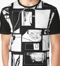 Granny's Things in Black with Transparent Background Graphic T-Shirt