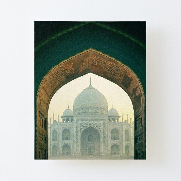 Taj Mahal, Agra, India Canvas Mounted Print