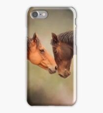 Best Friends - Two Horses iPhone Case/Skin