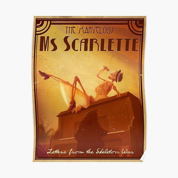 Ms Scarlette Poster