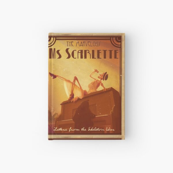 Ms Scarlette Hardcover Journal