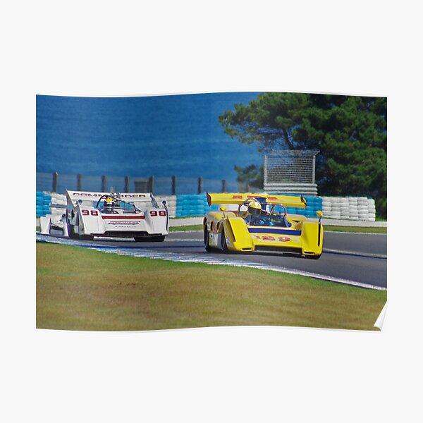 Dueling McLarens Poster