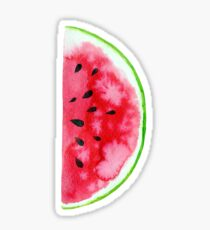 Watercolor watermelon slices  Sticker
