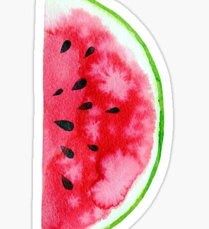 Watercolor watermelon slices  Sticker