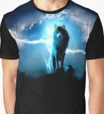 Rembulan : Lighting Wolf Graphic T-Shirt