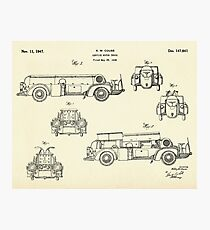 Service Motor Truck-1947 Photographic Print