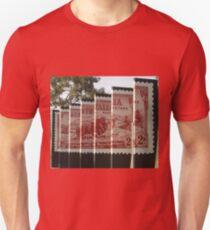 Stamp Panels, Rydalmere ,Australia 2015 Unisex T-Shirt