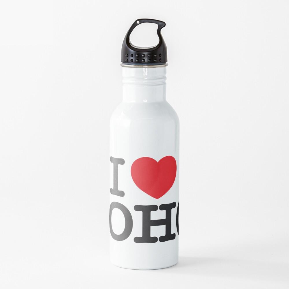 I Love Soho Official Merchandise @ilovesoholondon Water Bottle