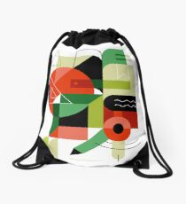 Geometry Drawstring Bag