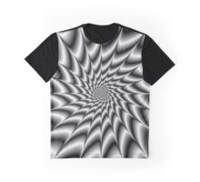 Silver Vortex Graphic T-Shirt