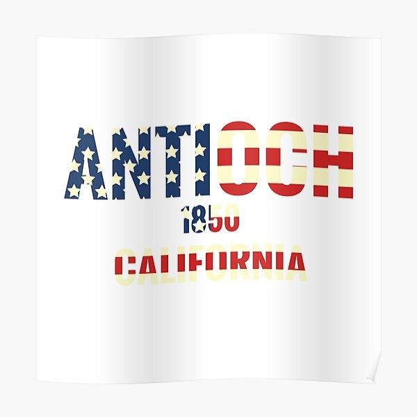 Antioch California  Poster