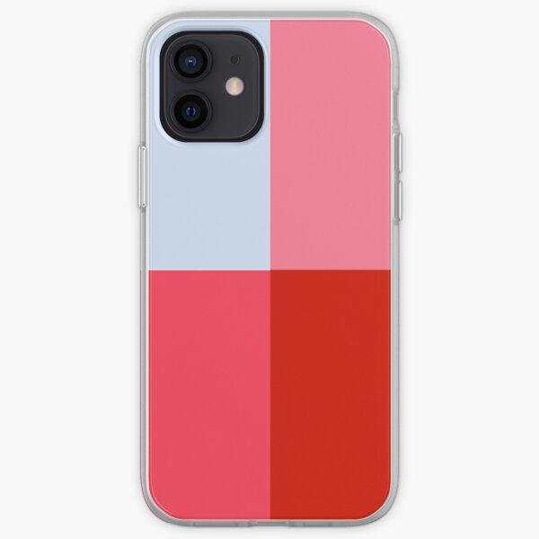 coloured squares iPhone Soft Case