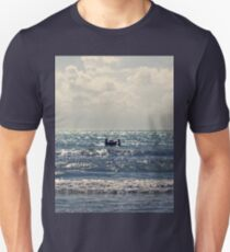 Couple swimming in the Moonlight T-Shirt