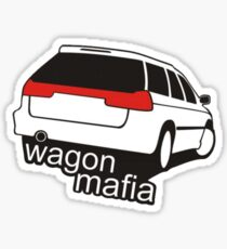 Wagon mafia Sticker