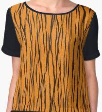 Tiger Skin Women's Chiffon Top