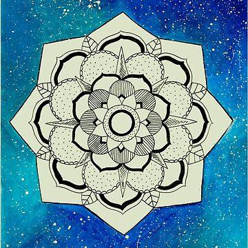 Galaxy Mandala by RubyBlue27