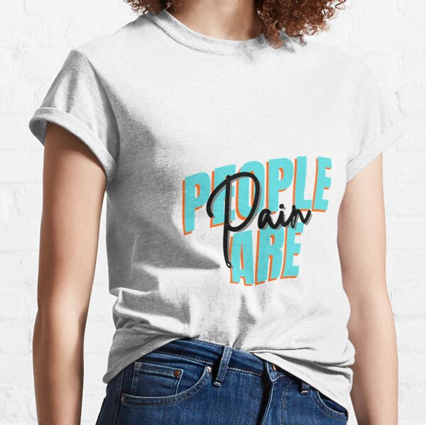 People are Pain - Glitch Style Classic T-Shirt