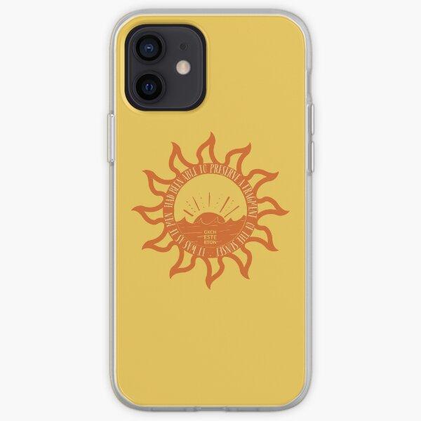 Captured Sunsets  - GKChesterton Yellow Orange iPhone Soft Case