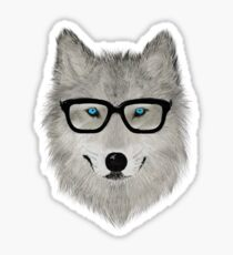 Wild Animal with Glasses - V02 Sticker