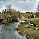 River Wye at Bakewell by Avril Harris