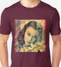 Scarlett Leigh with Magnolias from Tara T-Shirt