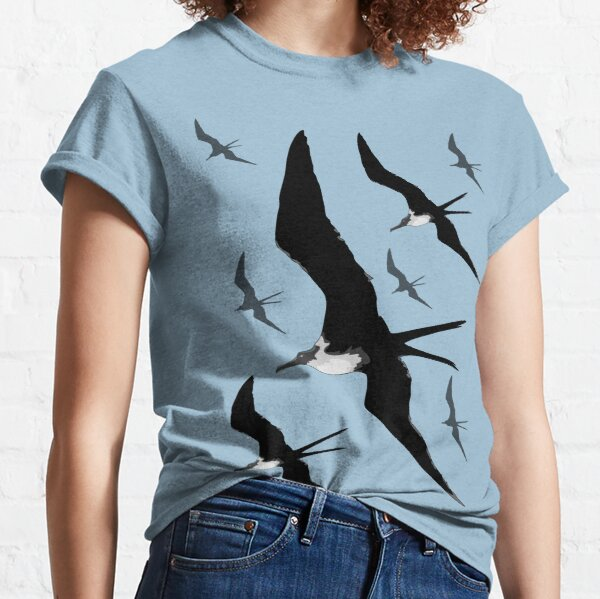 Frigate Birds Flying Classic T-Shirt