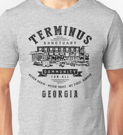 Terminus Sanctuary Community (dark) Unisex T-Shirt