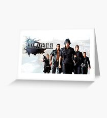 Final Fantasy XV Greeting Card