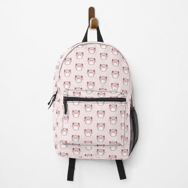 Axolotl Squishmallow Backpack