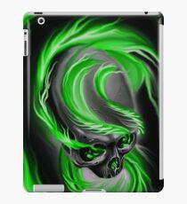 Electrified Mysticism - green iPad Case/Skin