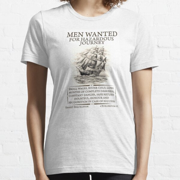 Men Wanted Essential T-Shirt