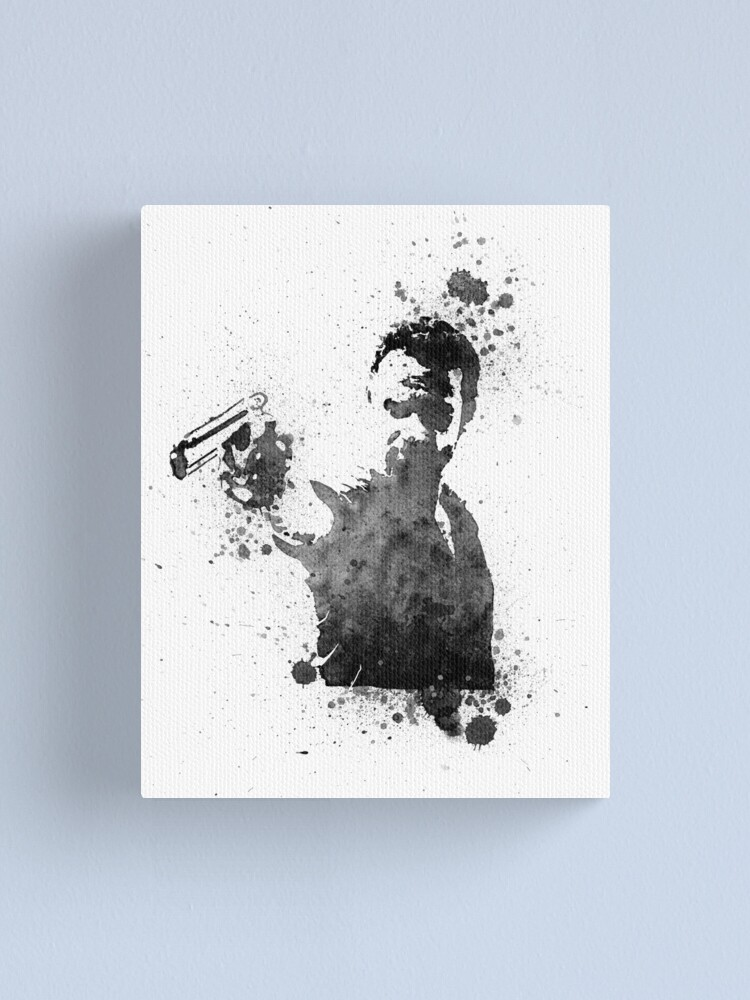 The Walking Dead Rick /& Daryl Stretched Canvas Wall Art~ More Size