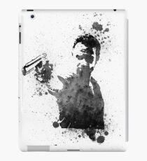 Rick Grimes Walking Dead Black & White iPad Case/Skin