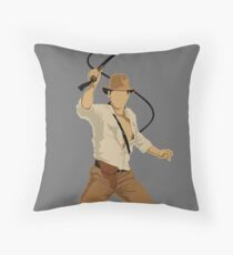 Fortune and Glory Throw Pillow