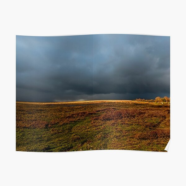 Storm clouds gathering Poster