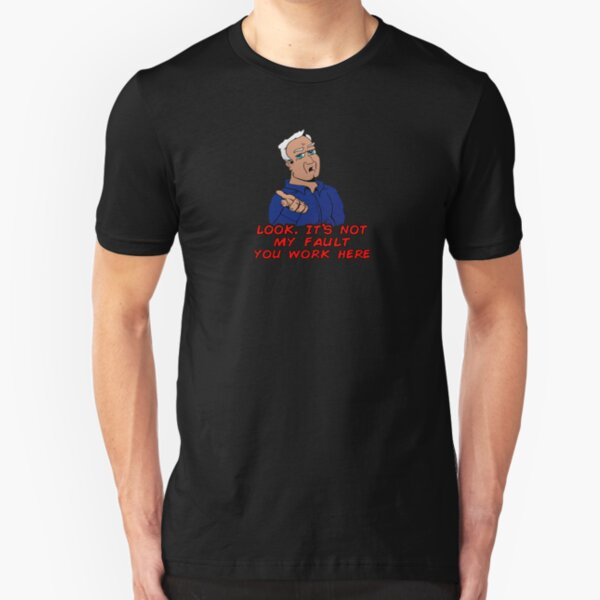 Bruno Harm, not my fault Slim Fit T-Shirt