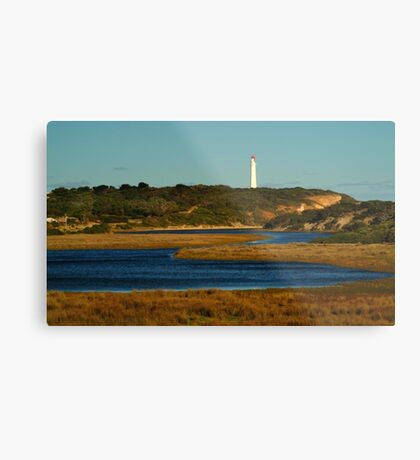 Split Point Lighthouse, Great Ocean Road. Metal Print