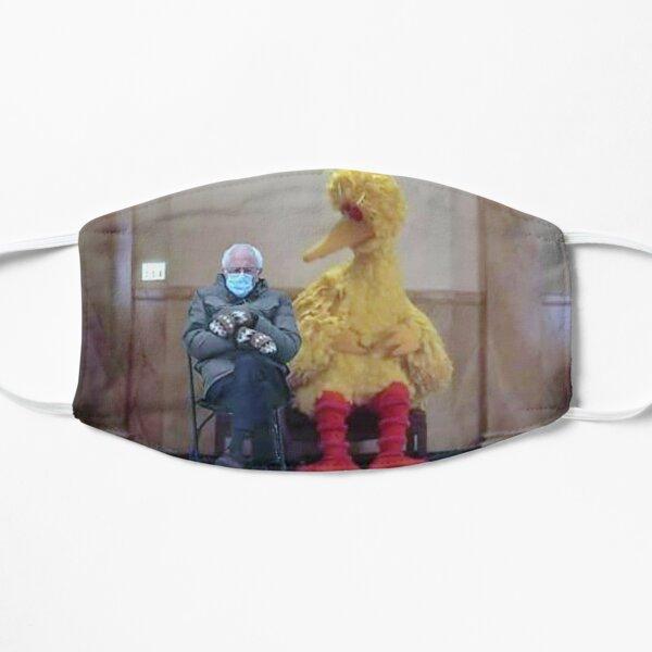 bernie sanders parody shirt T-Shirt Flat Mask